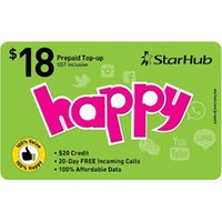 STARHUB PREPAID eTOP-UP - 24 Hours Instant Delivery!