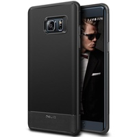 Obliq Slim Fit With Shock Protective TPU for the Samsung Galaxy Note FE / Fan Edition - Black