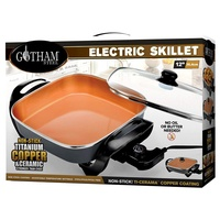 不沾鍋 Gotham Steel Electric Skillet with Non Stick Ti–Cerama