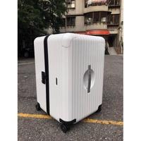 RIMOWA & Porsche 超輕型四輪行李箱 XL 「胖胖款」卡拉拉白