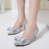 zara pointed mid heel single shoes female shiny pc wedding shoes zara