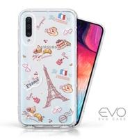 EVO CASE Samsung Galaxy A50 奧地利水鑽殼 - 甜點巴黎