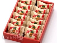Taiwan Snack ChiaTe Taiwan Pineapple Cake Taiwan Dessert Snack 12 pcs./Box Traditional Pastry