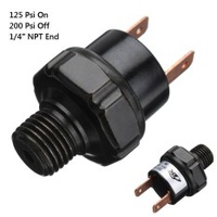 "125 - 200 PSI Air Compressor Pressure Control Switch Air Ride Suspension NPT1/4"" - intl"