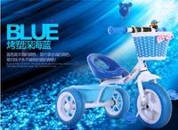 Children Trolley Bicycle push pram scooter tricycle 3 wheel kids child walker Not electric rechargeable