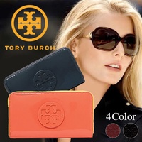 【TORY BURCH / Tory Burch】 Popular wallet type is a large special price! Genuine article 10/11 shipping reservation Start selling All this 9 prices since it was