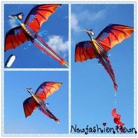ღtwღFamily Outdoor Sports Toy Children Kids  NEW 3D Chinese Dragon Stereo Kite