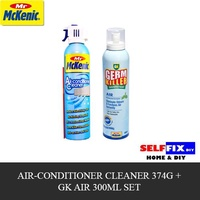 LOWEST PRICE - Mr Mckenic Aircon Cleaner 374g + GK Air 300ml