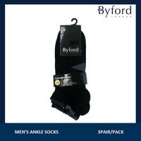 Byford 3pcs Mens Modal Ankle socks #411189