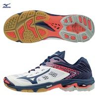 WAVE LIGHTNING Z5  男款排球鞋 V1GA190015(白X深藏青X桃紅)【美津濃MIZUNO】