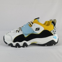 【iSport愛運動】Skechers D LITES-ONE PIECE聯名海賊王 664211LWBGD 中童 羅