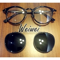 玳瑁色 Oliver peoples 505 (O'Malley NDG-1 Sir O'Malley 眼鏡 平光眼鏡)