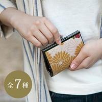 4寸離合器錢包重新流行花|小錢包錢包|和睦花紋|京都|可愛的|母親節|禮物|供長錢包/花紋/小鯊魚/女士/女性使用的/漂亮的/高雅 Noren Kyoto Gion