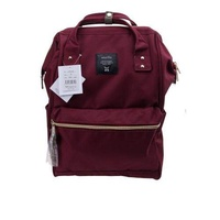 Japan Imported Anello (ของแท้ 100%) Canvas Backpack Wine
