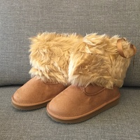 日本 VANS 毛靴 短靴 女童 靴身可變長 兩用靴 雪靴