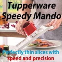 SG Seller ★Authentic Tupperware★ Speedy Mando Slicer Grater Mando Chef Food Preparation