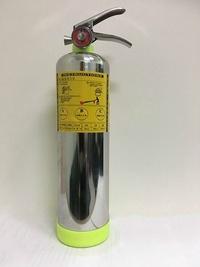 潔淨氣體滅火器 白鐵 不鏽鋼 車用 家用滅火器( 5 型HFC-227ea )