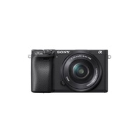 Sony Alpha 6400L/B 16–50 mm E-mount Camera - Black
