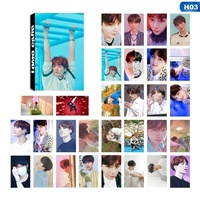 MeiYang 30 Pcs/set KPOP BTS Bangtan Boys LOVE YOURSELF Answer Album Lomo Photo Card PVC Cards Self Made Card Photocard