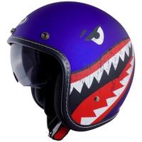 GP-5 GP5 339 鯊魚 隱藏式內鏡片 車縫質感邊條 時尚復古 半罩 騎士帽 復古帽 安全帽
