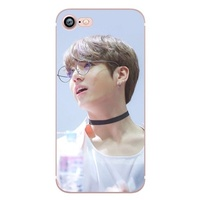 High Quality Phone Cases BTS Bangtan Boys Soft Transparent Cover Case for iPhone X 8 7 6 6S Plus 5 5