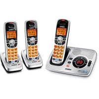 Uniden DECT1580-3 DECT 6.0 Cordless Phone with Digital Answering System and Two Extra Handsets