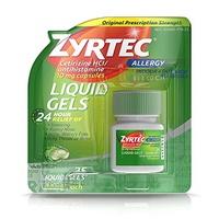 ▶$1 Shop Coupon◀  Zyrtec Antihistamine 10 mg Liquid Gels - 25 ct, Pack of 2