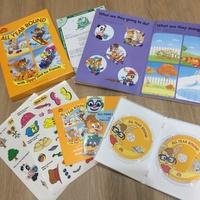 寰宇迪士尼 zippy A4靜電貼紙書 遊戲互動光碟 美語教材 cd