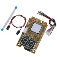 ❤❤ 5 in 1 Notebook Diagnose Test Debug Post Card Karte Mini PCI I2C PCI-E LPC
