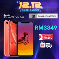 [RM3199 After Coupon Applied] iPhone XR 64GB 128GB 256GB - Malaysia Set