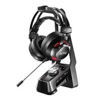 威剛XPG耳機 EMIX H30 電競耳機 + SOLOX F30 多媒體耳機架
