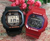 支持G打擊一對G-SHOCK BABY-G一對表一對手錶卡西歐2瓶一套g打擊嬰兒g dejitaruanadeji GW-M5610R-1JF GWX-5600C-4JF人氣包免費的聖誕禮物 Jewelry time Murata of watch