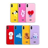 Official BT21 Acrylic Jelly Phone Case Cover For Samsung Galaxy Kpop BTS