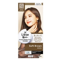 Liese Creamy Bubble Hair Colour - Soft Brown