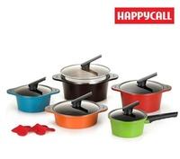 [Happycall] Alumite Ceramic Pot 2~5 Set / Made in Korea / Ceramic Pot / Cookware / dishes / pans