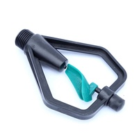 Green Plastic Garden Sprinkler Watering Sprayer Nozzle Head Farmland Greenhouse Atomizer Lawn Orchar