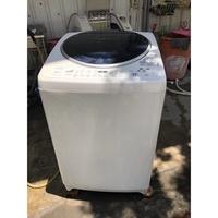 大高雄冠均二手家具批發----東芝 13公斤 AW-DC13WAG 變頻直立式洗衣機 2015年