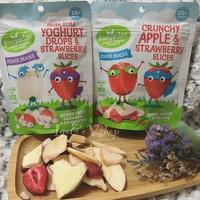 ☀️紐西蘭Kiwigarden 優格豆最新口味(蘋果乾+草莓乾/草莓乾+優格豆) 盒裝14g