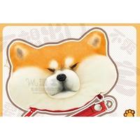 【紫色風鈴】 柴犬捏臉卡包微博同款柴犬卡包發洩減壓日本忠犬臉零錢包
