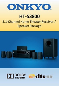 Onkyo HT-S3800 5.1 Channel Home Theater Receiver