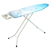 Brabantia Size B Ironing Board 124x38cm With Steam Iron Rest Ivory - Default Design