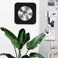 CD Player Speaker New Wall Mounted Bluetooth CD Player Speaker with Remote Control (Black EU) - intl
