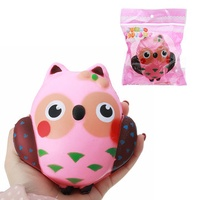 Squishy Owl Slow Rising Cute Soft Animals Collection Gift Decor Toy