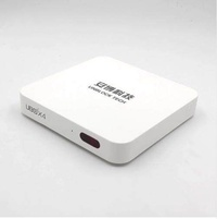TV Box STB Bluetooth ubox4 A53 8 cores 16G flash plug to watch free channels Free Shipping