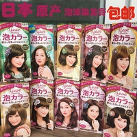 Japan purchasing Ms Liese bubble Kao pure vegetable hair dye black hair exclusive hair cream doesn