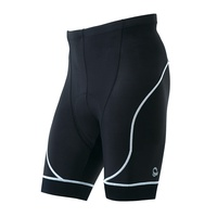 PEARL IZUMI 220-3D-6 基本款男性短車褲(黑/白邊)【7號公園自行車】