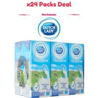 Dutch Lady UHT Full Cream Milk x 24 Packs Carton Deal (200ml)