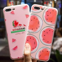 โค้ด CBCOIN30 ลด 30%*D Relief Fruit Case iPhone X 6 6S 7 8 Plus 6splus 8plus OPPO f1s f5 a59 a73 Wat