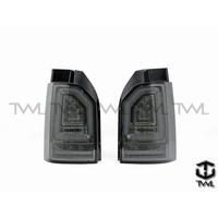全新VW福斯T6 15 16 17年全LED光條光柱墨殼尾燈後燈組方向燈是跑馬燈