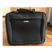 Delsey Cabin Luggage with rollers  ( Made in France)